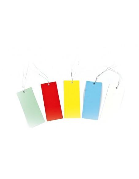Etiquettes horticoles larges en PVC*50