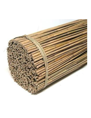 10 Tuteurs en bambou taille 105cm