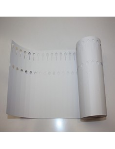 100 Etiquettes à boucles en PVC