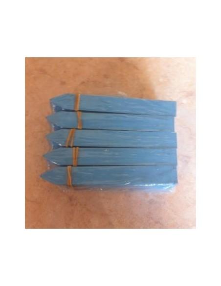 50 Etiquettes à piquer en PVC souple - longueur 12cm